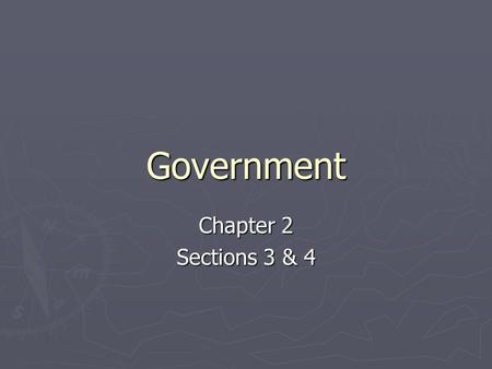 Government Chapter 2 Sections 3 & 4. Objectives 1. What were the major weaknesses of the Articles of Confederation? 2. What led to the Constitutional.