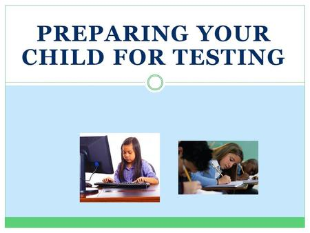 PREPARING YOUR CHILD FOR TESTING. What are the Florida Standards and Florida Standards Assessment? The Florida Standards in English Language Arts (ELA)
