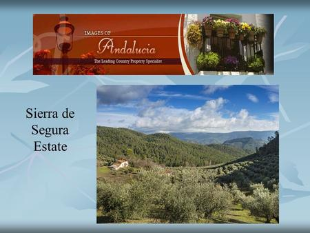 Sierra de Segura Estate. A superb country estate of 482 hectares(1,205 acres) which forms part of a larger hunting estate of 580 hectares. Almost 400.