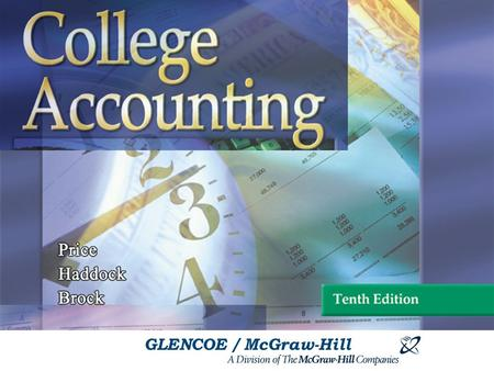 GLENCOE / McGraw-Hill. Accounting for Sales and Accounts Receivable.