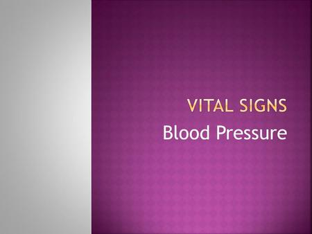 Blood Pressure.  What you put into your body has a direct effect on blood pressure  Individuals that consume a diet high in salt, saturated fat and.