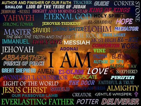 Blessed be the name of the Lord, Blessed be the name of the Lord, Most High! The Name of the Lord.