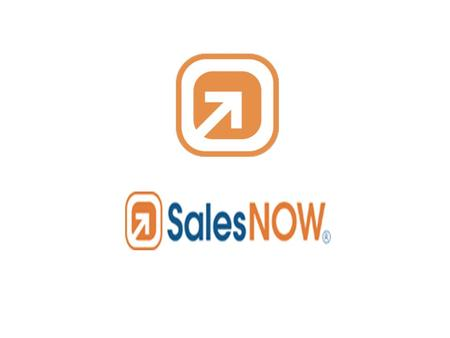 What is SalesNow ? SalesNow is a customer relationship management app that combines a smart phone component – available for BlackBerry and iPhone – with.