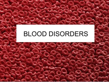 BLOOD DISORDERS. 1. Carbon Monoxide Poisoning CO binds to your hemoglobin, prevents oxygen from binding. Can be fatal. It is a silent killer as people.