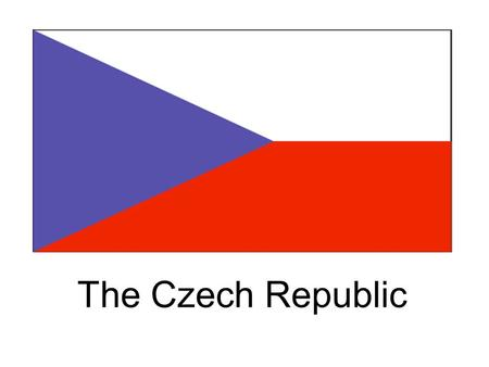 The Czech Republic. Czech and Slovakia was called Czechoslovakia before 1993. But it was broken up in January, 1993.