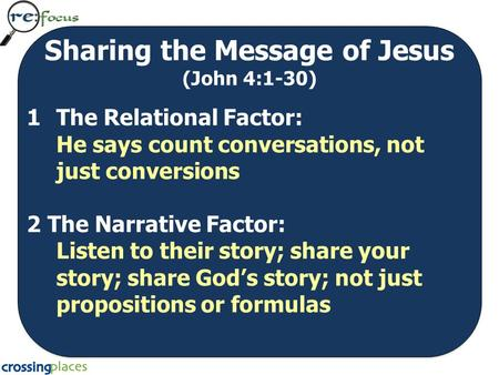 the message of discipleship looking at