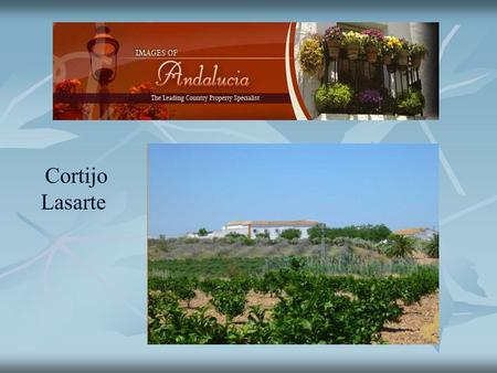 Cortijo Lasarte. This beautiful old farm dates back to the 18th century where the time seems to stand still forever. At only 19 km from the ancient town.