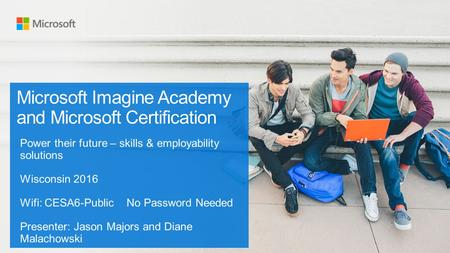 Microsoft Imagine Academy and Microsoft Certification