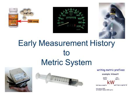 Early Measurement History to Metric System. What Do the Following Terms Mean? The Cubit... The Fathom... The Hand/span... The Pace... The Foot... The.
