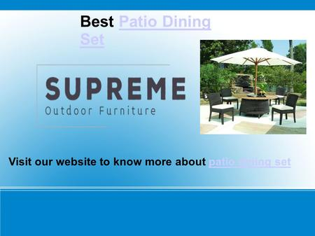 Best Patio Dining SetPatio Dining Set Visit our website to know more about patio dining setpatio dining set.