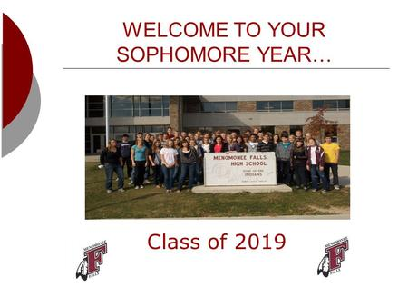 WELCOME TO YOUR SOPHOMORE YEAR… Class of 2019. Know Your School Counselor.. School Counselors: Ms. Hanley (A-Fi) Mr. Farley (Fl-La) Ms. Schuster (Le-Ri)