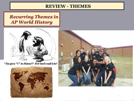 Recurring Themes in AP World History REVIEW - THEMES.
