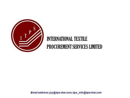 INTERNATIONAL TEXTILE PROCUREMENT SERVICES LIMITED  address: