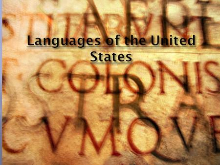  English is the de facto national language of the United States, with 82% of the population claiming it as a mother tongue, and some 96% claiming to.