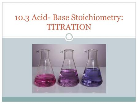 Acid-base titrations: analysis of antacid tablets essay