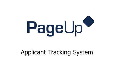 Applicant Tracking System. Current HR Job Postings.