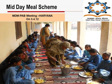 The Mid Day Meal Scheme