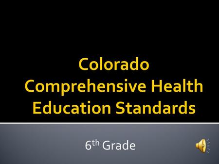 6 th Grade  Physical & Personal Wellness  Emotional & Social Wellness  Prevention & Risk Management.