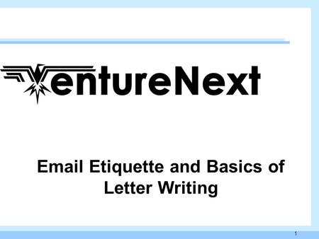 1 Email Etiquette and Basics of Letter Writing. 2 What is an Etiquette? General code of behavior that is acceptable within a specific social culture Though.