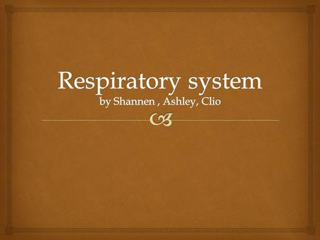  The nose is one of the parts of the respiratory system that let's air in the body. Also your nose is the only part of the respiratory system that.