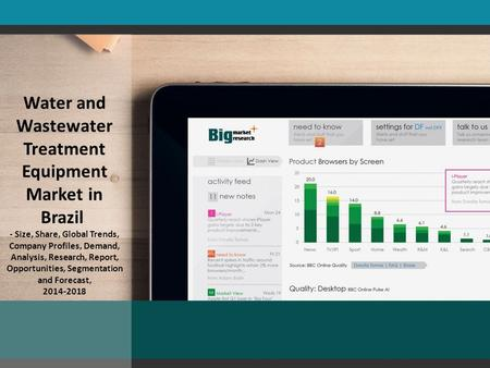 Water and Wastewater Treatment Equipment Market in Brazil - Size, Share, Global Trends, Company Profiles, Demand, Analysis, Research, Report, Opportunities,