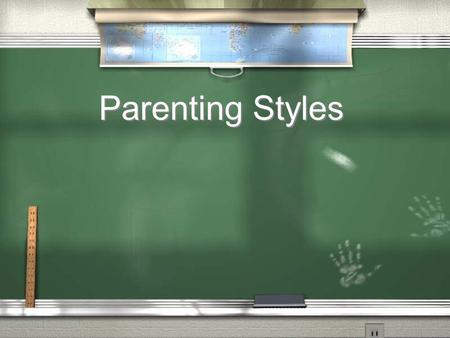 Parenting Styles. Select the following parenting style according to the description given. / The choices are: Authoritarian, Permissive, Democratic /