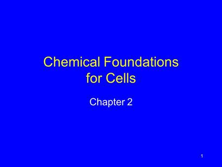1 Chemical Foundations for Cells Chapter 2. 2 Chemical Benefits and Costs Understanding of chemistry provides fertilizers, medicines, etc. Chemical pollutants.