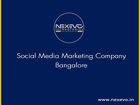 Hire our Social Media Marketing Facilities and Improve your professional growth to a new level The perception of social media has developed in the previous.