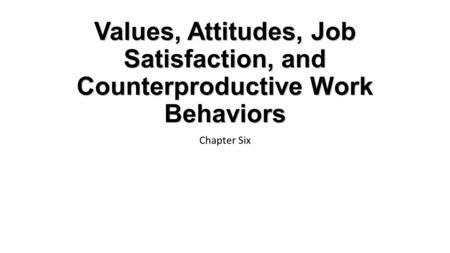 Job satisfaction research paper