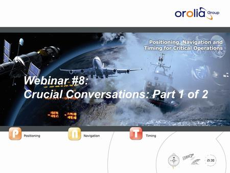 IPrecision™ Systems for Critical Operations 1 Webinar #8: Crucial Conversations: Part 1 of 2.
