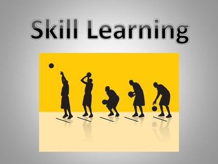  As we progress from a beginner to a skilled performer we must pass through different stages of learning  There is no definitive point at which an athlete.