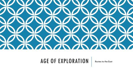 Age of exploration essay