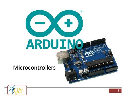 1 Microcontrollers. 2 Programmers work in the virtual world Machinery works in the physical world Microcontrollers connect the virtual and physical world.