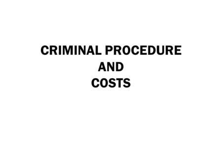 CRIMINAL PROCEDURE AND COSTS. HB 0570 Service of Magistrate's Order of Emergency Protection Effective: 6-14-2013 CP 17.292 Removes requirement for service.
