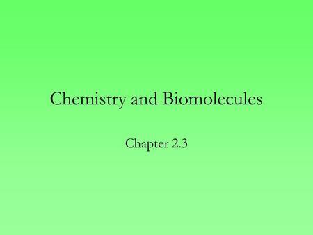 assignment 3 biomolecs 2018-2-1 biology a @ coas search this site  assignment 1 assignment 2 assignment 3 assignment 4 assignment 5 assignment 6  properties of biomolecules.