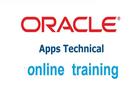 Oracle Apps Technical Online Training Introduction to ERP  Definition of ERP, Overview of popular ERP'S Comparison of Oracle Apps with other ERP'S Types.