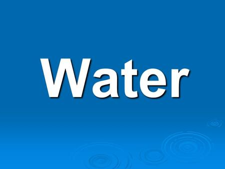 Water. Water  Chemical Formula H 2 O H 2 O 2 Hydrogen Atoms 2 Hydrogen Atoms 1 Oxygen Atom 1 Oxygen Atom.
