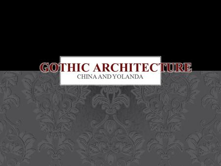 CHINA AND YOLANDA. The Goths were a northern Germanic tribe, one of many so-called barbarian pagan tribes which invaded former territories of the.
