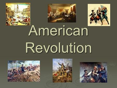 American Revolution. Vocabulary  Tax- money that people pay to their government in return for services  Correspondence- written communication  Smuggle-