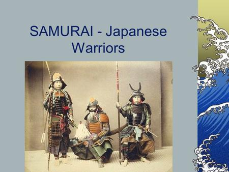 SAMURAI - Japanese Warriors. BUSHIDO https://www.youtube.com/watch?v=B9XyCwmh-5Q  murai-and-bushido.
