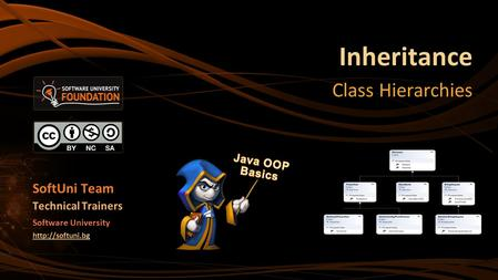 Inheritance Class Hierarchies SoftUni Team Technical Trainers Software University