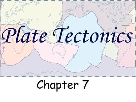 Chapter 7. What are the 3 Major Zones of the Earth?