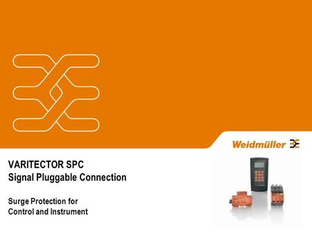 VARITECTOR SPC Signal Pluggable Connection Surge Protection for Control and Instrument.