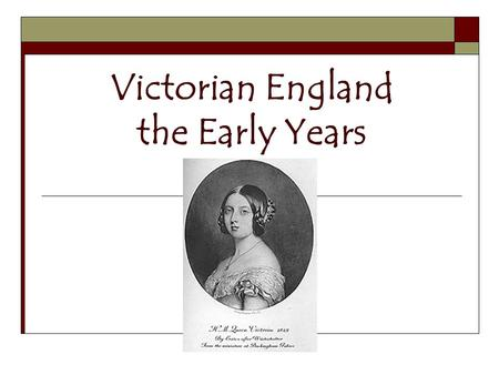 "Victorian England the Early Years. Sir Robert Peel  Gained his first seat in Parliament in 1809 from a ""rotten borough""  Began politics under a system."