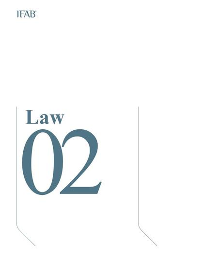 Law 02. The Ball 1. Qualities and measurements All balls must be: spherical made of suitable materiaal of a circumference of between 70 cm (28 ins) and.