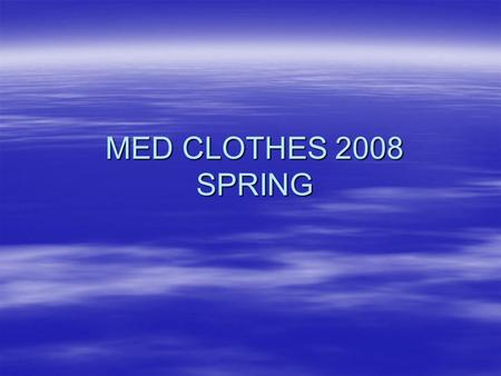 MED CLOTHES 2008 SPRING. MEN'S CLOTHING GYM SHORTS Navy Pricing: $30.