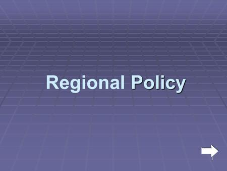 1 Policy Regional Policy. 2  The UK, as a whole, is made up of a number of regions throughout England, Scotland, Wales and Northern Ireland.  Some of.
