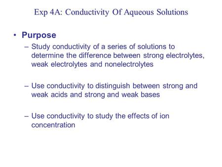 conductivity of aqueous solutions post lab How is the electrical conductivity of ionic liquids in comparison with metals ionic liquid electrical conductivity  below aqueous electrolyte solutions,.