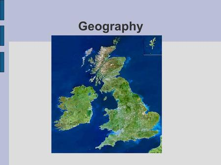 Geography. From south to north Great Britain stretches for over 900 km and from east to west in the widest part only for about 500 km.