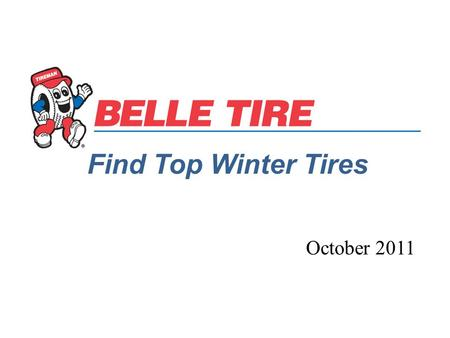 Find Top Winter Tires October 2011. Winter Tires are built from the ground up to deliver safety and control in snow, ice, and cold weather conditions.